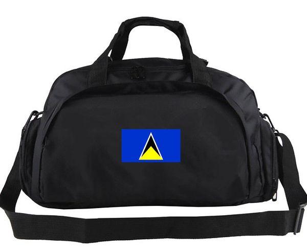 Saint Lucia duffel bag Run team tote Useful backpack Football luggage Sport shoulder duffle Outdoor sling pack
