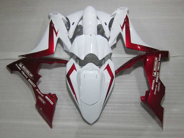 100% fit for for Yamaha injection mold fairings YZFR1 2004-2006 wine red white fairing kit YZF R1 04 05 06 OT17