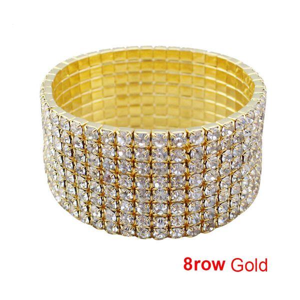 8 row gold