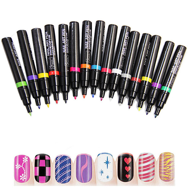 Wholesale Fashion Nail Art Pen For 3d Nail Art Diy Decoration Nail ...