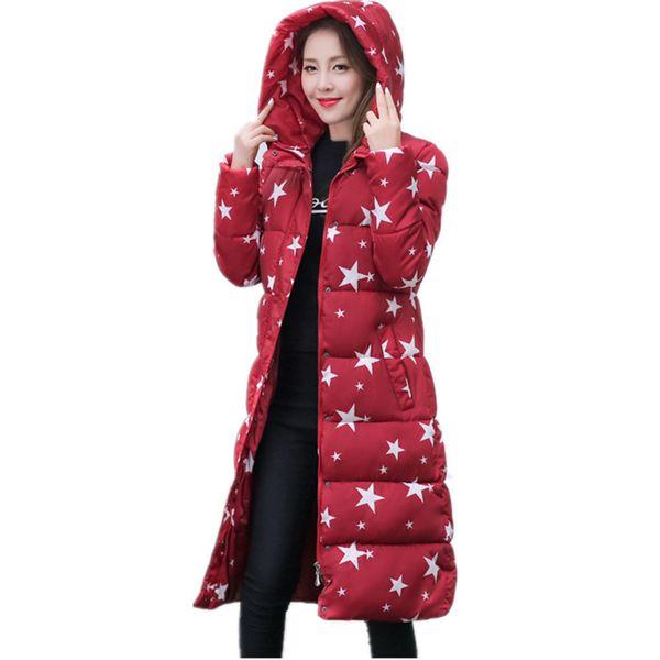 7a098767367 Wadded Cotton Jacket Women New Winter Coat Female Fashion Warm Parkas Hooded  Women s Down Jacket Casual Coat Plus Size 3XL C2381