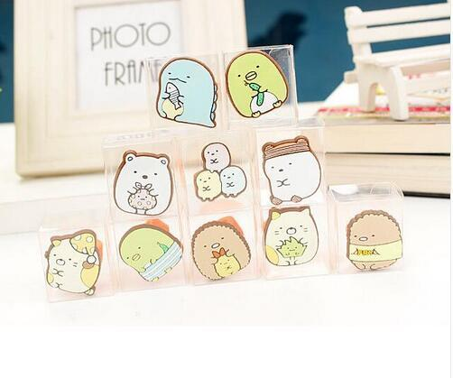 New Lot 20pcs Cartoon Japanese anime Children Silicone Rings Party L--5