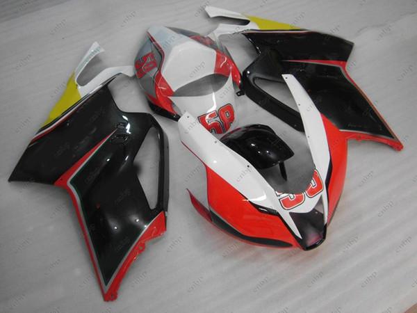 Bodywork for Aprilia RSV1000 03 04 Plastic Fairings RSV 1000 2006 Black Red ABS Fairing RSV1000 2003 2003 - 2006