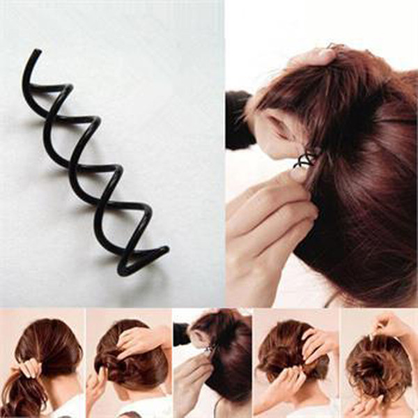 10Pc Hair Styling Tools Braiders Spiral Spin Screw Pin Hair Clips Twist Barrette Hairpins Hairdressing Accessories Clip
