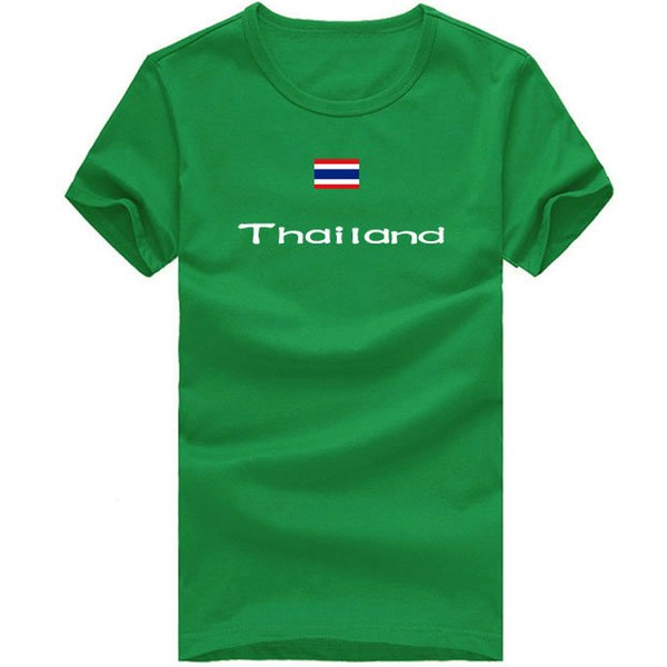 Thailand T shirt Outdoor sport short sleeve Party happy tee Country flag clothing Unisex cotton Tshirt