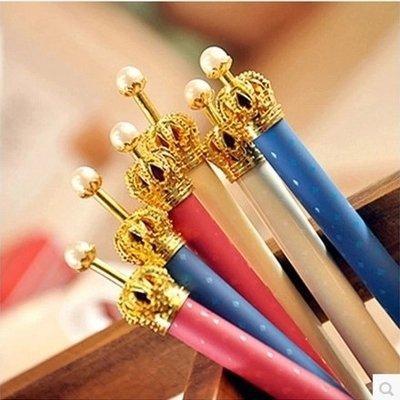 Toptan-Yaratıcı öğrenciler kırtasiye Güney Kore sevimli küçük saf ve taze ve taç prenses jel kalem Tükenmez kalem otomatik kalem