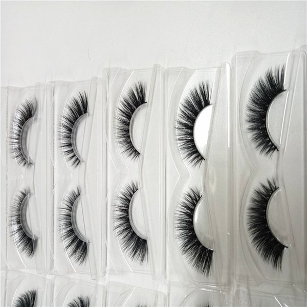 Free Shipping 1pcs/lot 100% Real Siberian 3D Mink Full Strip False Eyelash Long Individual Eyelashes Mink Lashes Extension