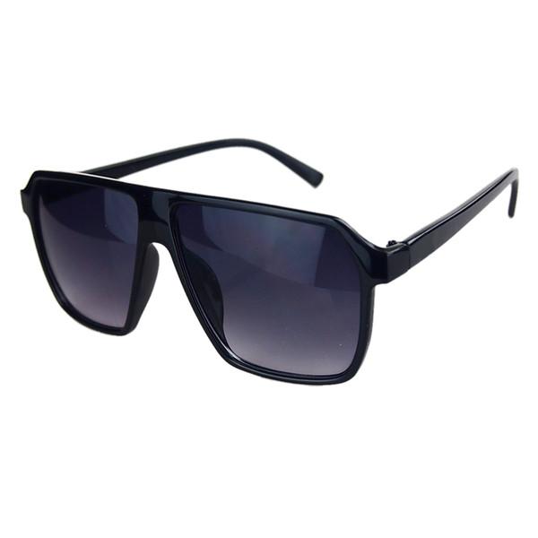2018 NEUE Ankunft Vintage Fashion Style Thick Große Rahmenfarbe linsen Frauen Männer Geschenk COOL Party Große Brillen sonnenbrille