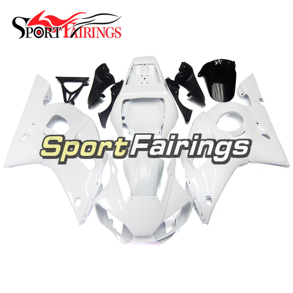 White Pearl Fairings Pour Yamaha YZF600 R6 YZF-R6 1998 1999 2000 2001 2002 Injection ABS Plastics Moto Full Carénage Kit Cowlings NOUVEAU