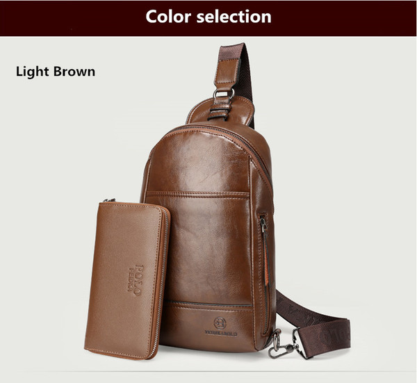 Light Brown+wallet