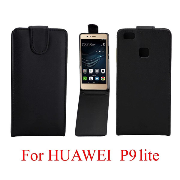 Phone Bags Cover For Huawei Ascend P9 Lite phone case Back coque PU leather Flip Vertical Up-Down Open skin pouch