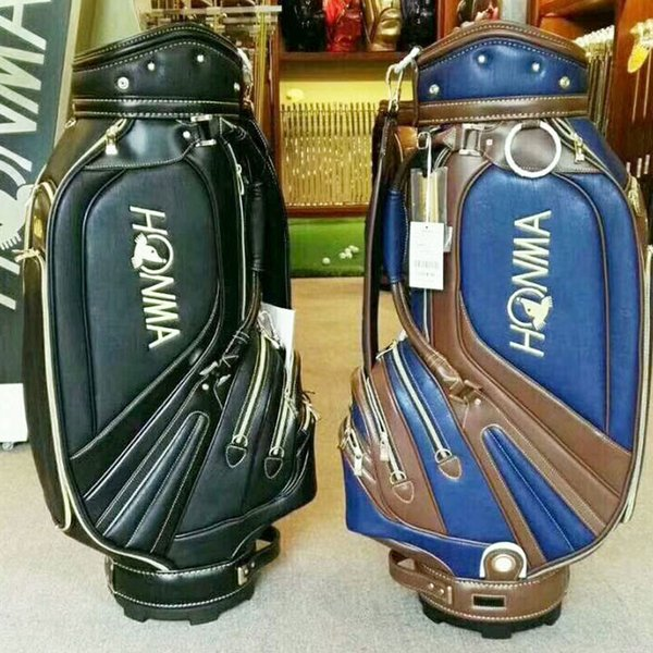 best selling New honma Golf bag High quality 9.5 inch Golf clubs bag blue black colors in choice Golf Cart bag Free shipping