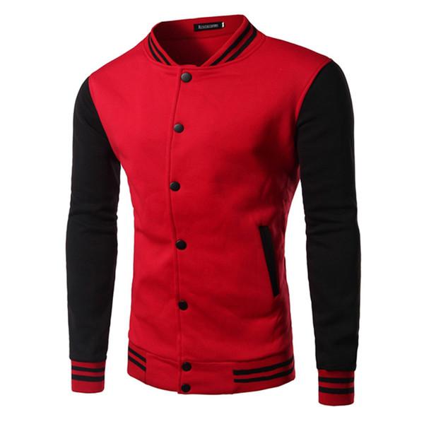 도매 남자 / 여자 Hoody 운동복 봄 캐주얼 슬림 맞는 후드 망 트랙 수트 다채로운 야구 스웨트 아웃웨어 Pullovers 14QT25
