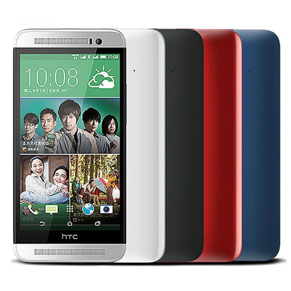 "Original HTC One E8 2GB RAM 16GB ROM Mobile Phone Quad-core 13MP Camera 5.0"" Screen WIFI GPS Refurbished cell phone"