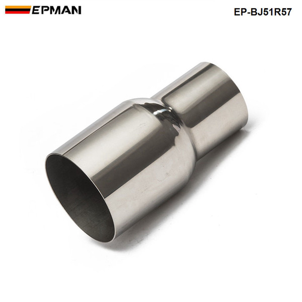 """top popular EPMAN -OD:2"""" 2.25'' 2.75'' 3'' 3.5'' Universal Exhaust Pipe to Component Adapter Reducer EP-BJ51R57 2021"""