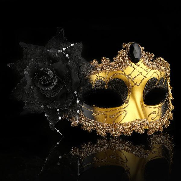 noir fleur de la rose