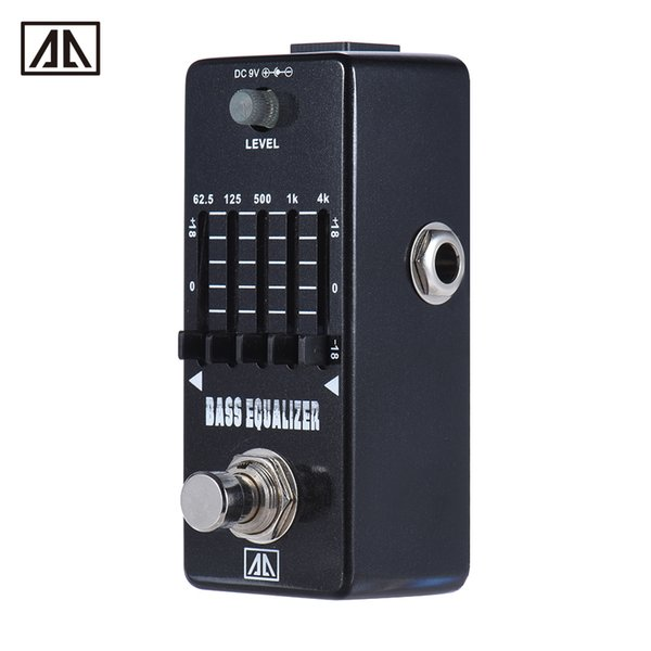 AROMA AEB-5 Graphic Bass Guitar 5-Band EQ Equalizer Effect Pedal True Bypass Aluminum Alloy Body Guitar boss pedals