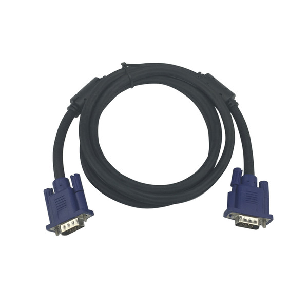 10 from the batch of 1.4 meters high-definition vga3 +6 computer host monitor cable with shielded projector TV HD video cable