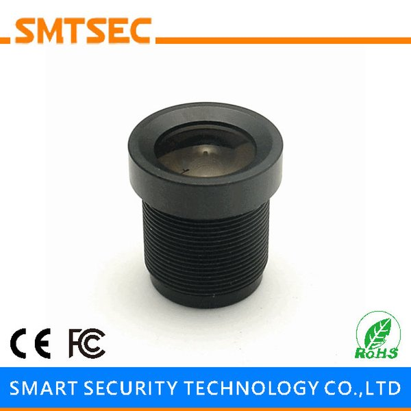 "Wholesale- SMTSEC SL-3620B 1/3"" 3.6mm CCTV Lens F2.0 M12*0.5 Mount 92 Degrees Wide Angle CCTV Board Lens for CCTV IP Security Camera"