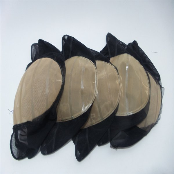 wig cap skin Simulation scalp Swiss net elastic net Newest Caps For Making Wig With Adjustable Strap lot Glueless Weaving Cap With Anti-slip