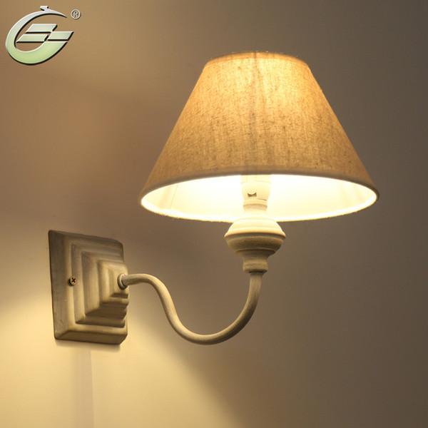 Acquista Lampada Da Parete Stile Americano Vintage Lampade Da Comodino  Applique Da Parete Scale Camera Da Letto Home Decor 110V / 220V E14 ...
