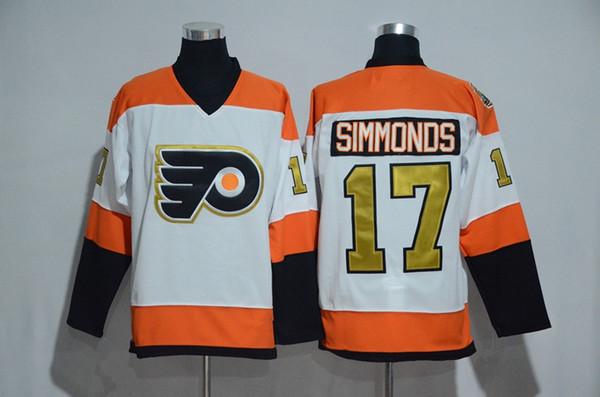 1a9e8d628 ... Men 17 Wayne Simmonds Jersey 2017 Stadium Series Philadelphia Flyers  Ice Hockey Jerseys Winter Classic 50th ...