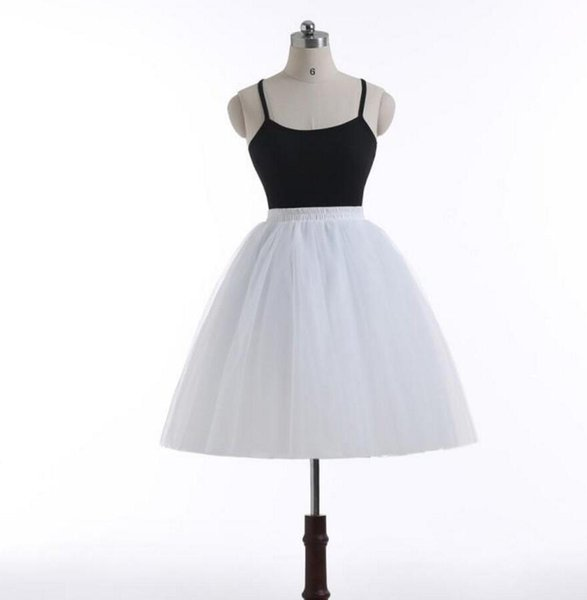 Hot Sale Short Tulle Tutu Skirts For Women Mini Length Real Image 7 Layers Custom Made Top Quality Cheap Formal Skirt