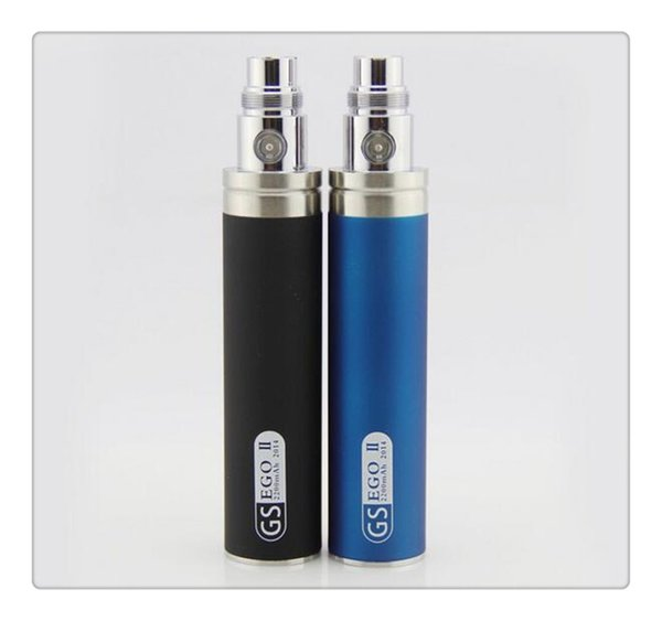 Wholesale Hot sale GS eGo II Battery 2200mah E Cigarettes Updated EGO Battery For 510 CE4 MT3 Atomizer ecig Battery