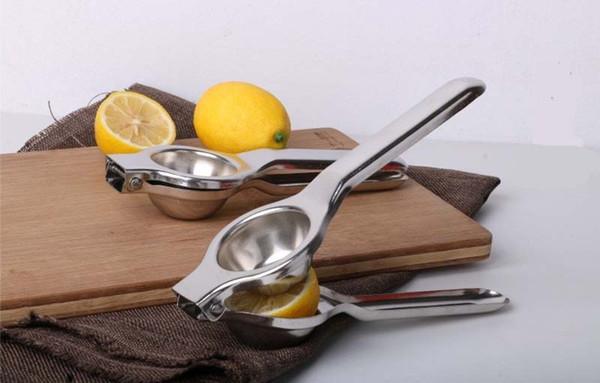 Edelstahl-Zitronenpresse, robuste Limettenpresse Korrosionsbeständige manuelle Limetten-Frischsaft-Werkzeuge, manuelle Zitronenpresse