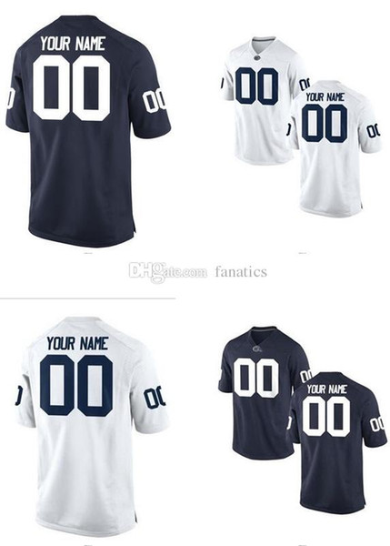 e156d8cb0 ... barkley no; mens women youth kids penn state nittany lions personalized  customized college cheap jersey white