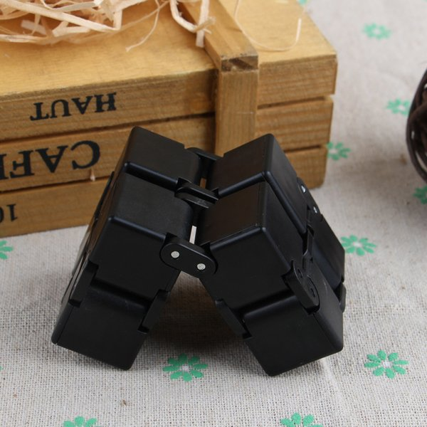 Infinity Cube Fidget Spinner Magic Cube Square Fun Stress Reliever Focus Game