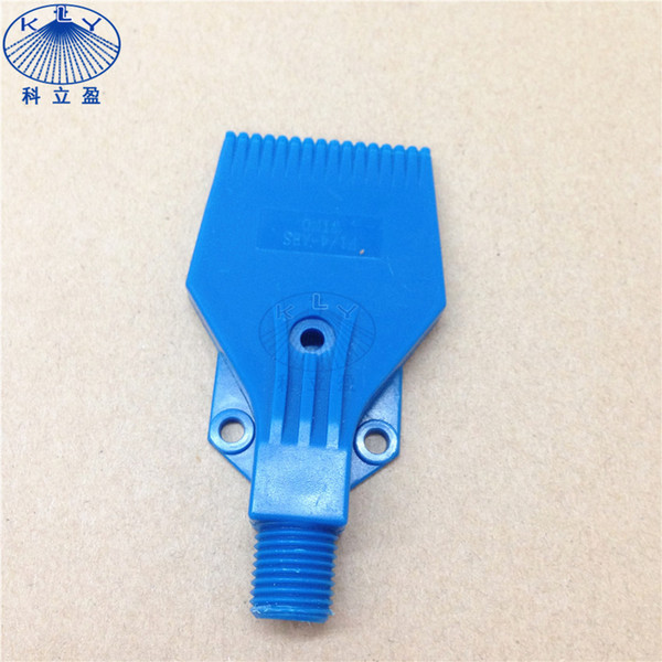 top popular 10 pcs per lot, ABS plastic blow off Blue color plastic wind jet air nozzle for cooling, cleaning, drying 2019