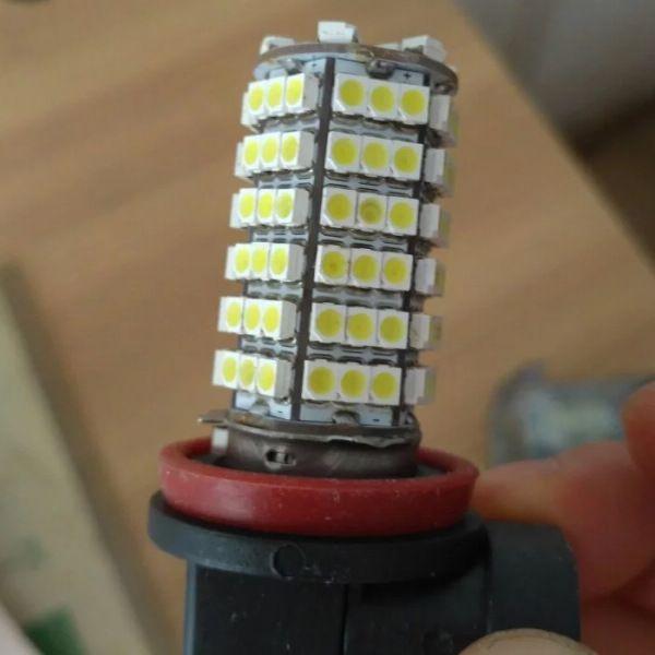 12 v luzes led do carro h11 120led 3528smd para carro luz de nevoeiro luz de nevoeiro xenon branco substituição lâmpada
