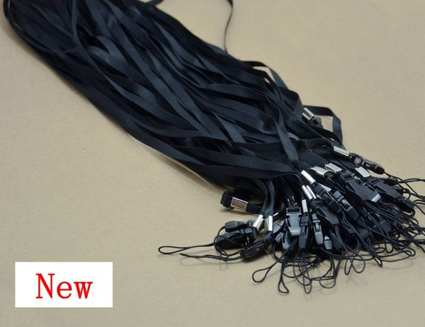 black Nylon Wrist Hand Strap Lanyard for Mobile Cell Phone Camera USB MP4 PSP Straps hot