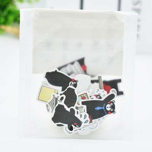 Al por mayor-DIY Lindo Kawaii Cat Paper Sticker Lovely Panda pegatinas para la decoración del hogar Scrapbooking diario álbum de fotos envío gratis 3467