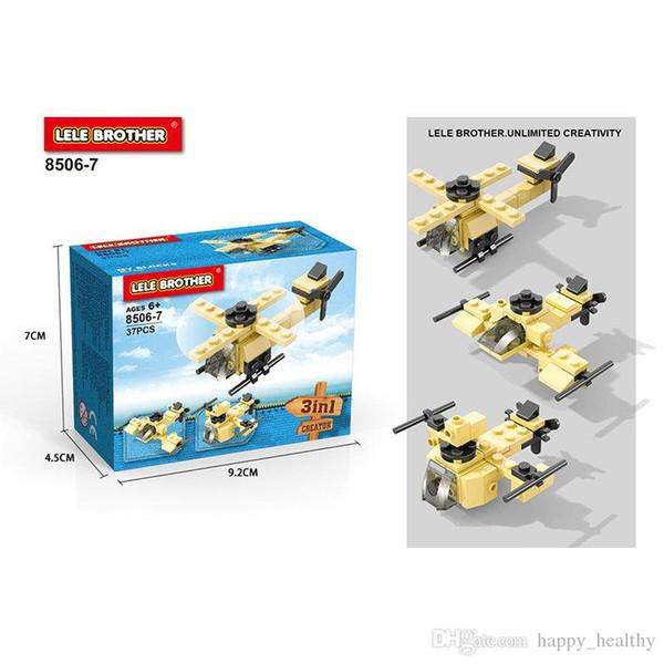 Venta al por mayor modelo DIY juguetes serie militar tanques de combate Pequeñas partículas de diamante bloques Kindergarten enseñanza Inteligencia desarrollo de dibujos animados