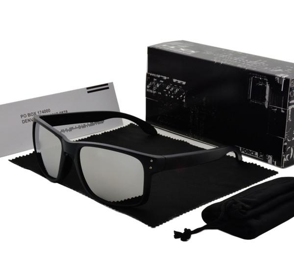 Radfahren Sonnenbrille Männer Fahrrad Sonnenbrille Mode Dazzle Farbe Spiegel Gläser UV400 Schutz 13 Farben mit Retail-Zubehör