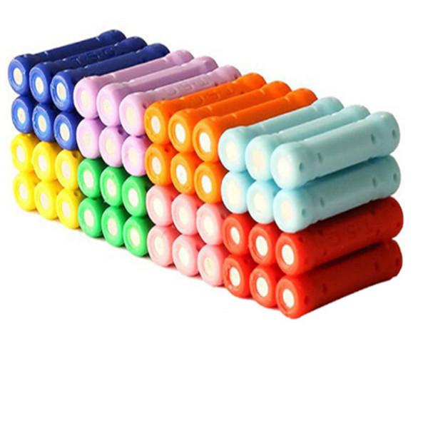 50 / 100pcs giocattolo magnetico educativo del bastone per i bambini che costruiscono i giocattoli giocattoli accessori magnetici della costruzione del progettista MU890851