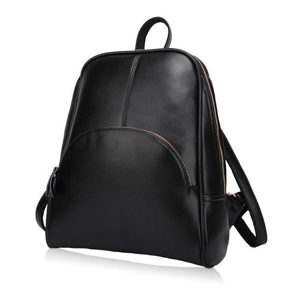 Frauen Rucksack Leder Rucksäcke Softback Taschen Markennamen Bag Preppy Style Bag Casual Rucksäcke Teenager Mädchen Mochila Feminina
