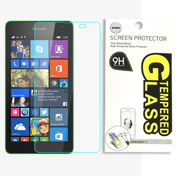 Tempered Glass Screen Protector for Nokia 2.5D Anti-Explosion Anti-Scratch LCD Front Screen Protective Film for NOKIA N900