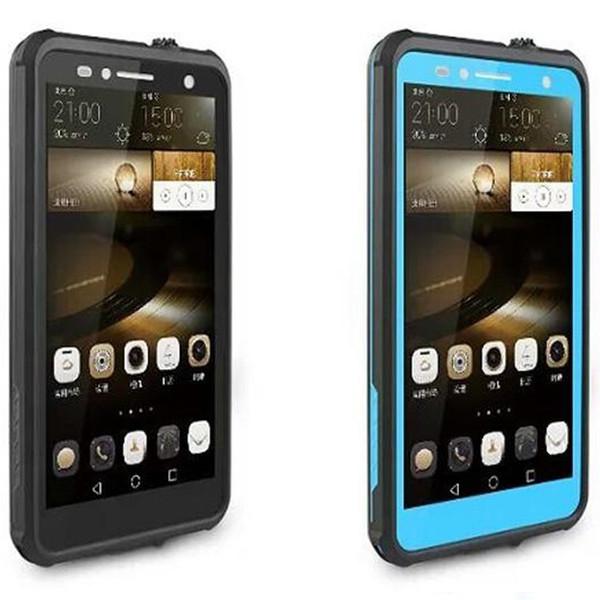 Custodia impermeabile originale resistente alla sporcizia del telefono Redpepper Huawei Mate7 100% con scatola al dettaglio DHL gratuita