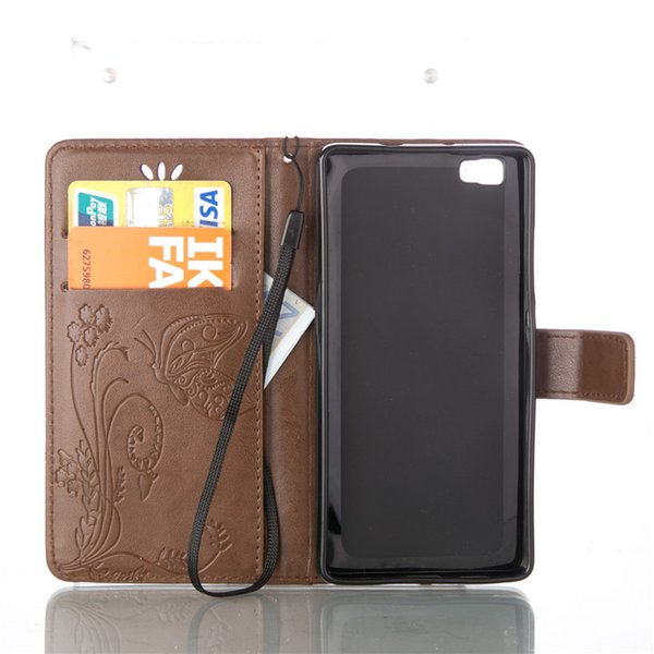 Cover For Samsung Galaxy S5 i9600 S6 S7 Plus S3 S4 S5 J1 Mini i8190 i9190 S6 Edge S7 Edge PU Leather Stand Wallet With Rope Card Slots Cases