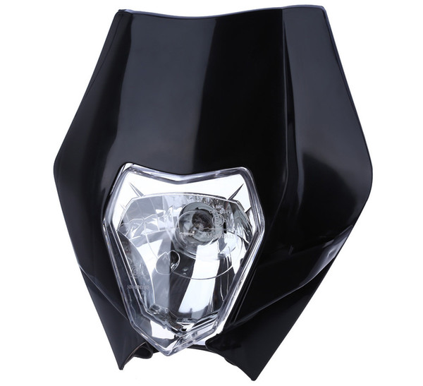 Motorcycle Halogen Headlight Indicator Fairing Lampshade for Dirt Bike Motor Great Headlight Enjoy Racing Through Darkness