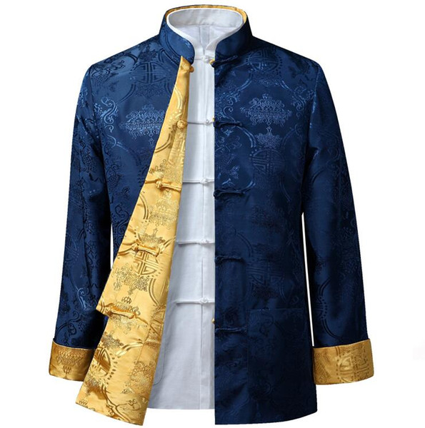 best selling chinese style man jacket Typical fsashion customized men outerwear HY005