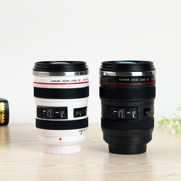 Camera Lens Mugs Plastic Coffee Tea Cup Creative Cups Home Kitchen Dining & Bar Tableware Drinkware Accessoires