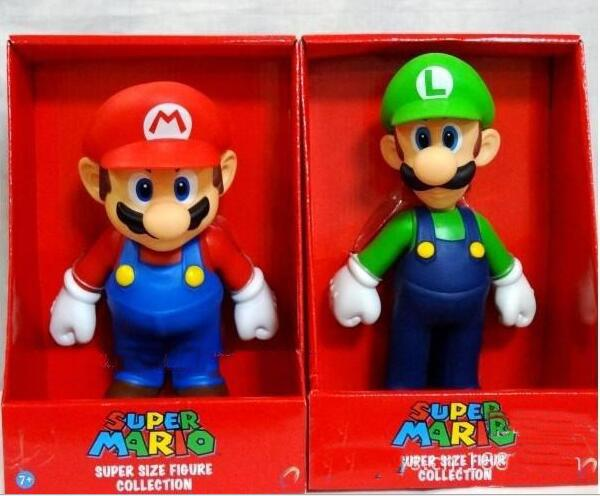 Mario bros. PVC doll toys Mario Luigi Koopa Troopa figure free shipping and mushrooms