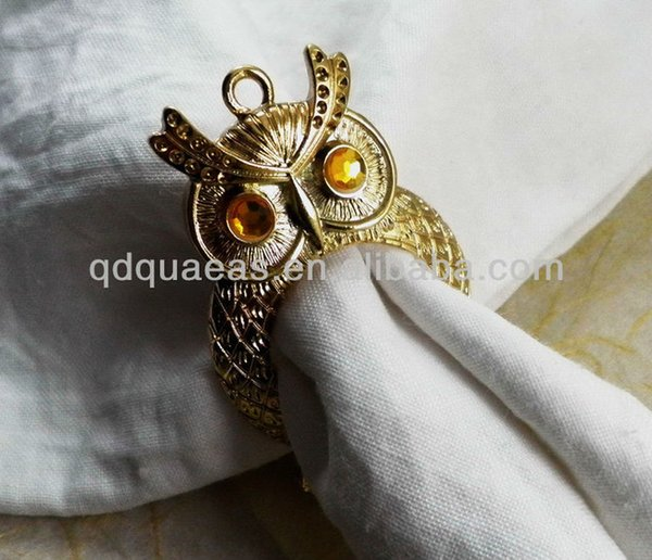 Wholesale- sold beaded wedding napkin ring by free shipping
