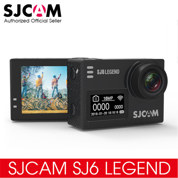 "Original SJCAM SJ6 LEGEND 4K 24fps Ultra HD Notavek 96660 Waterproof Action Camera 2.0"" Touch Screen Remote Sports DV"