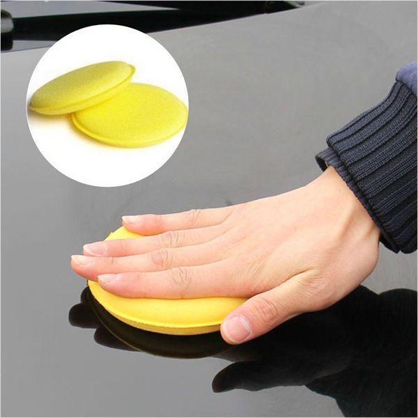 12 x Car Waxing Polish Foam Sponge Wax Applicator Cleaning Detailing Pads KT0170