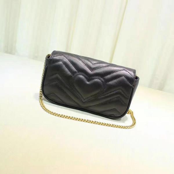 Hot sale new women chain single shoulder messenger high quality real leather crossbody bag fashion brand ladies hand bag female evening bag